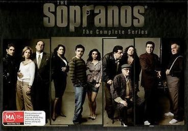 Sopranos, The - Complete Collection.  An innovative look at the life of fictional Mafia Capo Tony Soprano, this series is presented largely first person, but additional perspective is conveyed by the intimate conversations Tony has with his psychotherapist. Moments of black comedy intersperse this aggressive, adult drama, with adult language, and extreme violence. For six seasons, fans devotedly watched modern-day mob boss Tony Soprano balancing his home life with his criminal organisation.