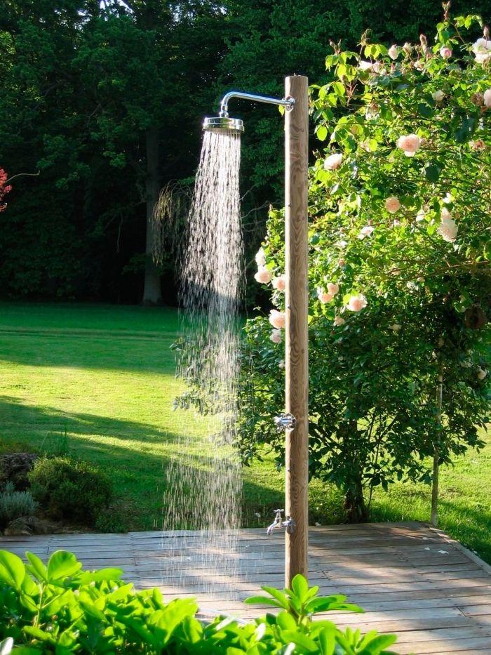 1001 id es pour l 39 installation d 39 une douche ext rieure douche exterieure douche piscine