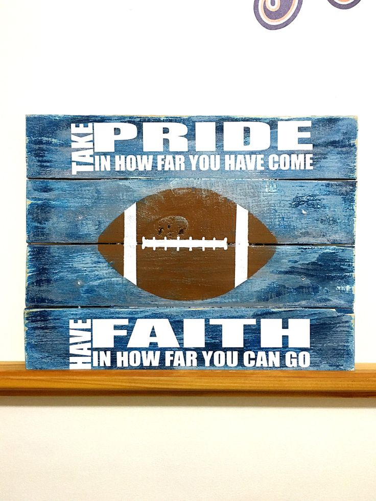 Football Decor, Football Sign, Football Bedroom, Boys Bedroom Decor, Football Wall Decor, Football Wall Art, Football Quotes, Football Gifts by TamieMarieDesign on Etsy
