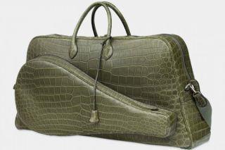 Herm猫s crocodile bag for men