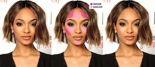 Vind uit welke gezichtsvorm je hebt en het contouren van je gezicht kan nooit meer verkeerd gaan. Bekijk de tips en trucs hieronder.