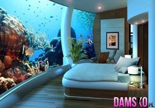 Sypialnia z odrobinką oceanu.  Wymarzona !