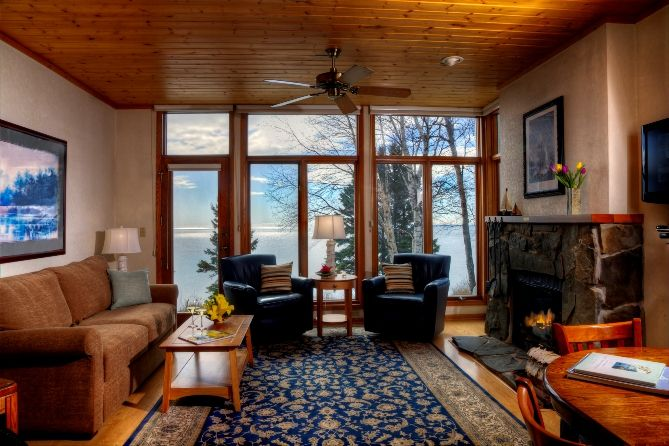 Superior One Bedroom Condo Bluefin Bay Resort Lake Superior