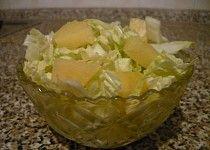 Pekingské zelí s ananasem