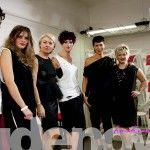 Fashion Show | ©New Idenova | Contesy Hair: Contesy Collection: Optical fw2014-2015 Dress: FIRST MT di Montagner Giorgia