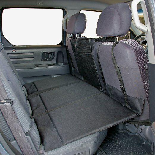 Backseat Pet Bridge Dog Car Seat Extender Platform Cover Barrier