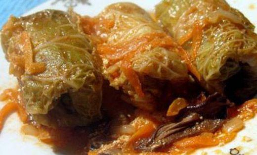 Голубцы в листьях савойской капусты – рецепт