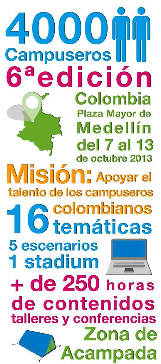#CPCO6 http://www.campus-party.com.co/2013/edicion_2013.html