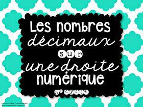 La classe de Karine: Les nombres décimaux