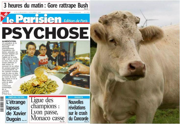 DANS LE RETRO. Mars 1991, premier cas de «vache folle» en France