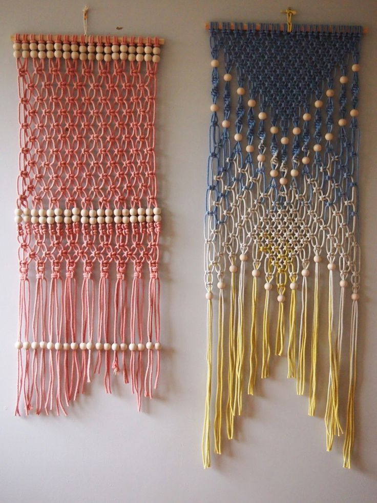 60 Best Images About Macrame Curtain On Pinterest