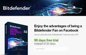 Bitdefender Total Security 90 days trial, Bitdefender Total Security 2016 image, Bitdefender Total Security 2016 screenshot, Bitdefender, Bitdefender Total Security trial, Bitdefender Total Security image.