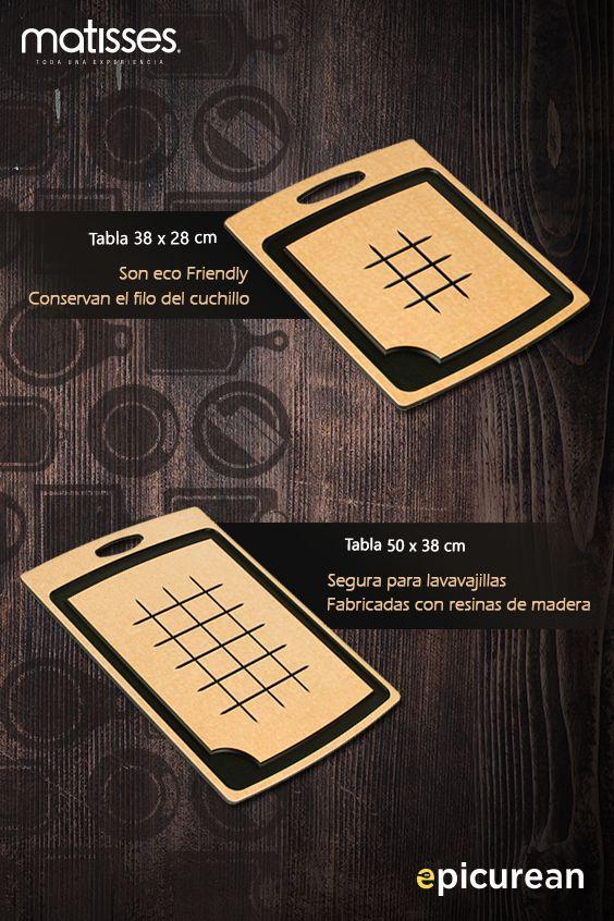Tablas para picar en madera, diseños de Epicurean. Muy pronto en #MatissesComplementos