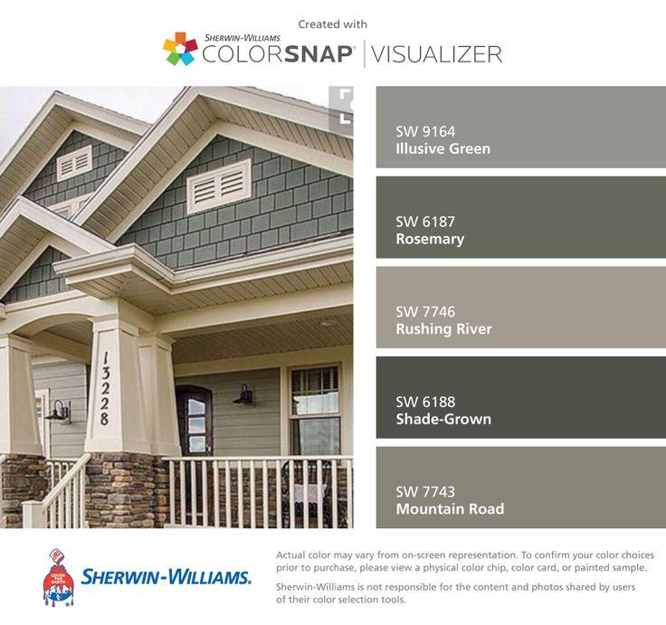 Sensational 17 Best Ideas About Exterior House Colors On Pinterest Home Largest Home Design Picture Inspirations Pitcheantrous