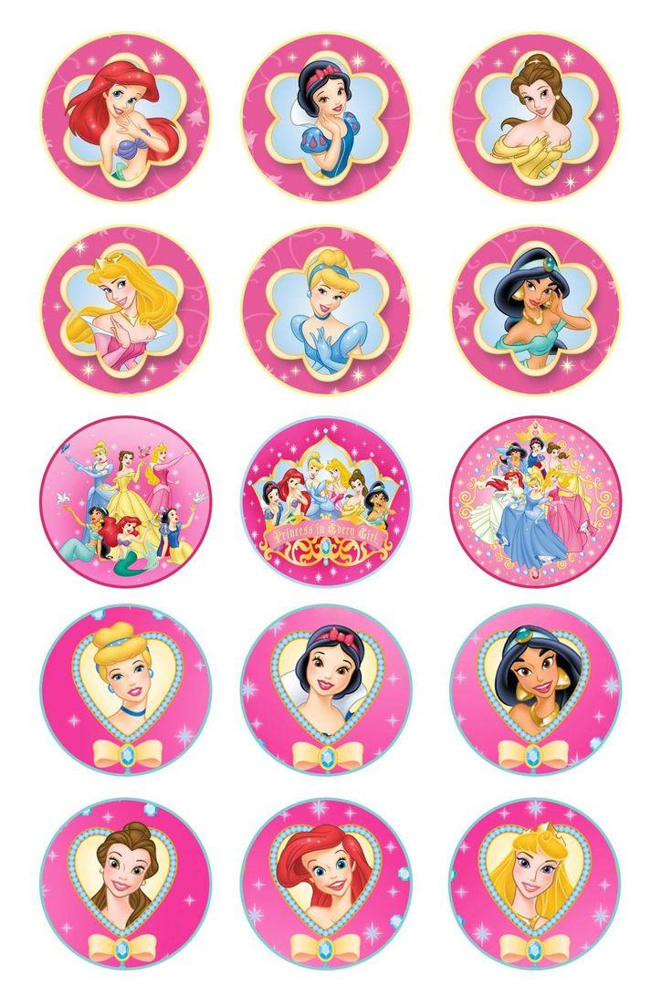 Free Disney Princess Bottle Cap Images