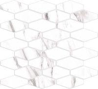 Porcelain tiles - Hati mosaic blanco 31'8X29 cm. | Arcana Tiles | Porcelain tile | marble  inspiration | interior design