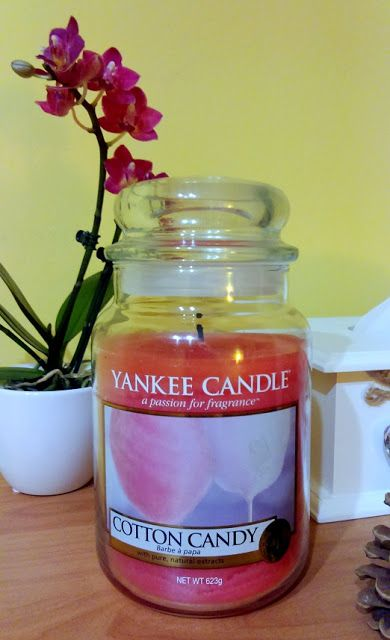 Yankee Candle Cotton Candy