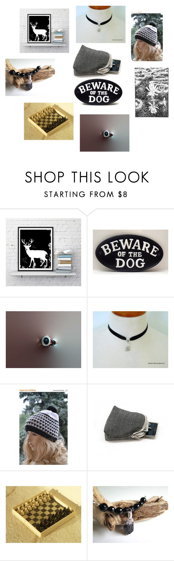 Black and white gifts for any taste! by luckystanlv on Polyvore featuring interior, interiors, interior design, home, home decor and interior decorating
