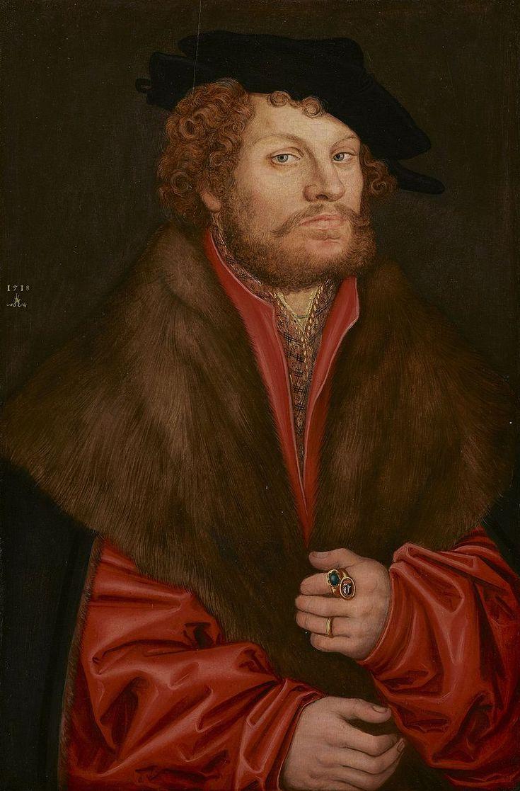 Lucas Cranach d.Ä. - Bildnis des Moritz Büchner - Lucas Cranach l'Ancien — Wikipédia