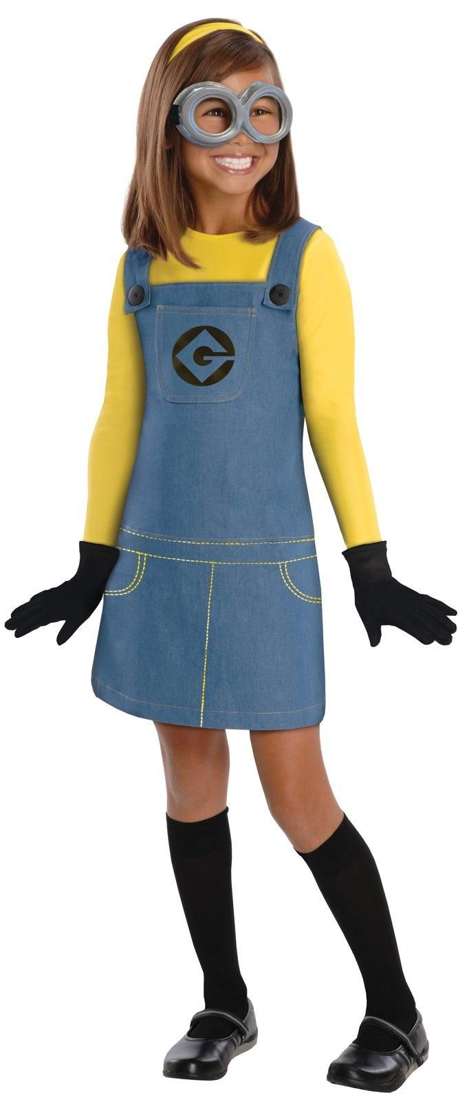 Despicable Me 2 - Female Minion Child Costume from BirthdayExpress.com