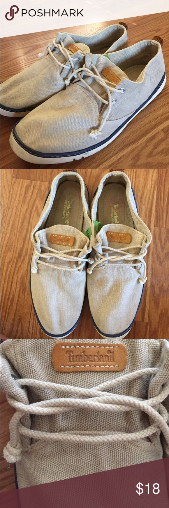 Timberland Men's shoes size 11 Timberland boat style shoes for men size 11. They can use a good clean but they are still in good condition! Hey ask have removable soles (pictured). Timberland Shoes Loafers & Slip-Ons
