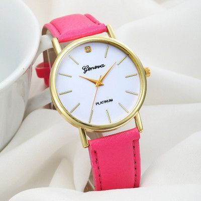 Montre Femme bayan kol saati Luxury Brand Women Casual Dress Watches PU Leather Quartz Wrist Watch Relogio feminino