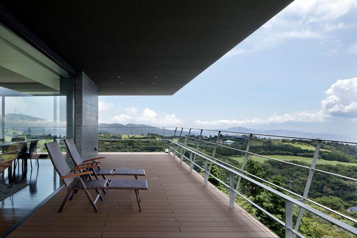 重量鉄骨造の家 空に浮かぶリビング アーキッシュギャラリー