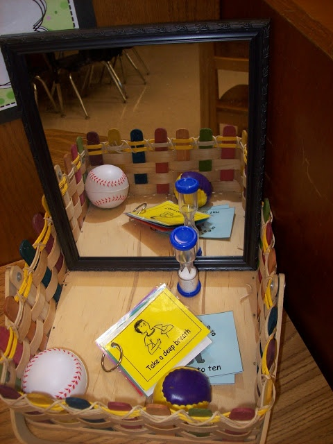 """Nikki Sabiston's Blog Article, """"Why I Will Never Use a Behavior Chart Again"""" & """"Take a Break"""" Space idea (from Teaching in Progress)...while I love my positive behavior chart-this is a great addition to my take a break!"""