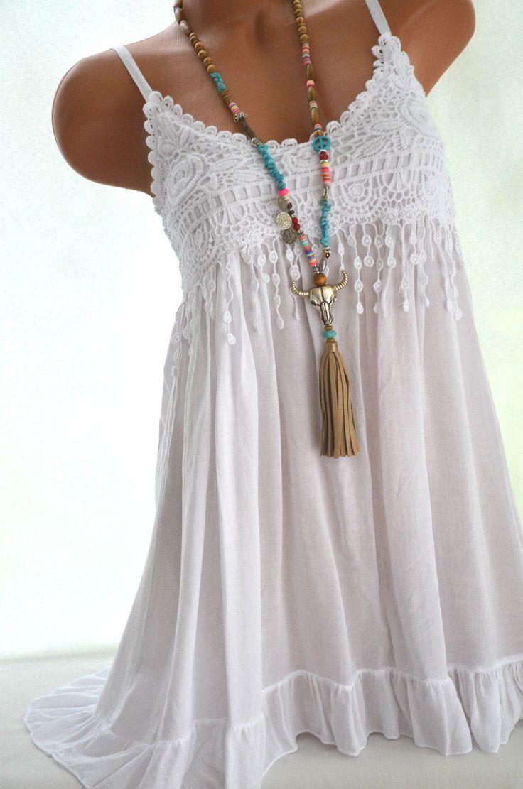 Weibes kleid ibiza style