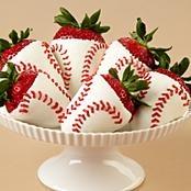 @Brittany Horton Schultz----Birthday ideas! :) Lol I know its WAY early!   Home Run foodie berries food tasty yum