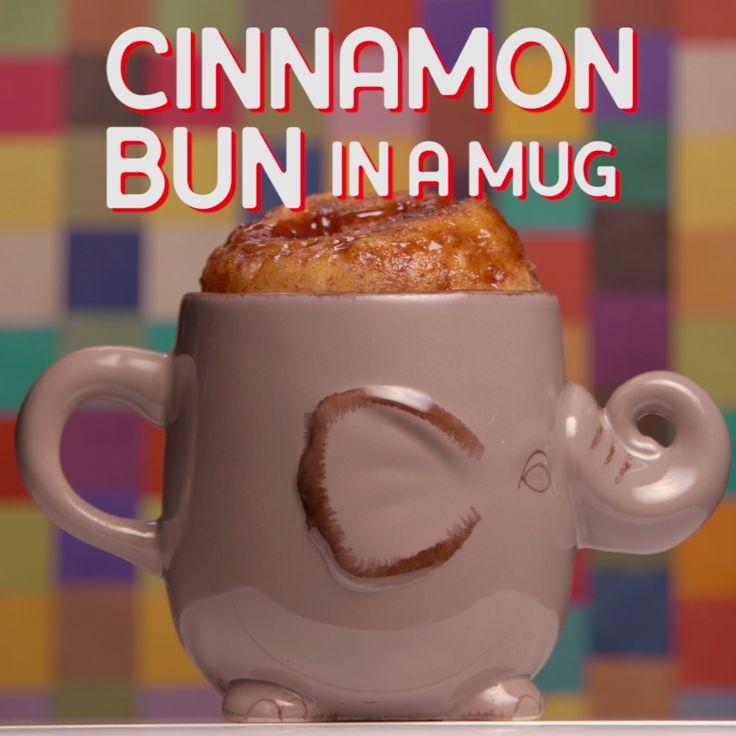 Explore a new way to make Cinnamon Bun in a mug.