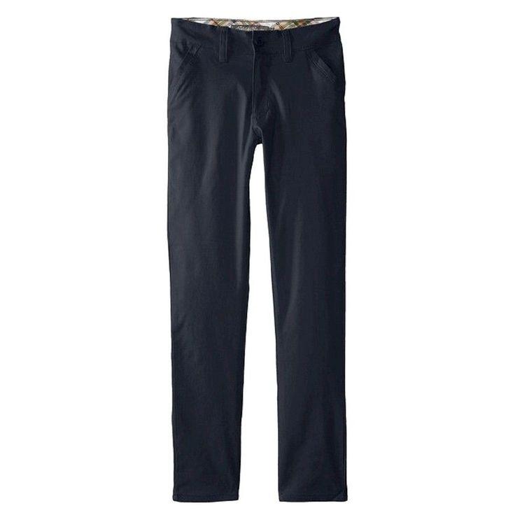 Eddie Bauer Girls' Stretch Skinny Pant Navy (Blue) 16, Girl's