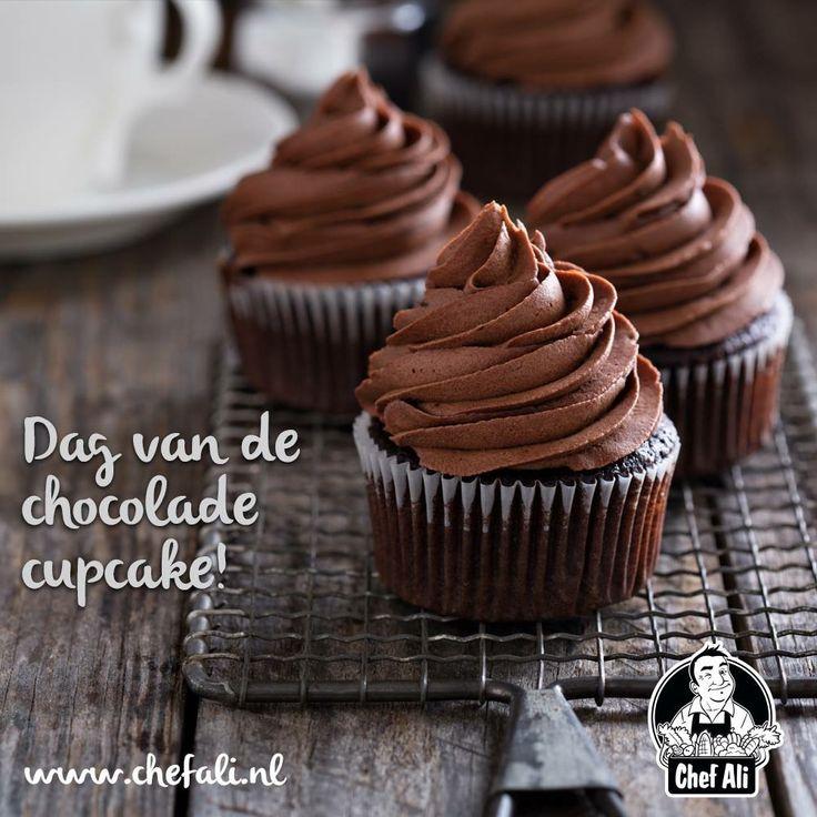 Vandaag draait alles om cupcakes, het is namelijk de dag van de chocolade cupcake! Wij gaan er in ieder geval van genieten, jij ook?