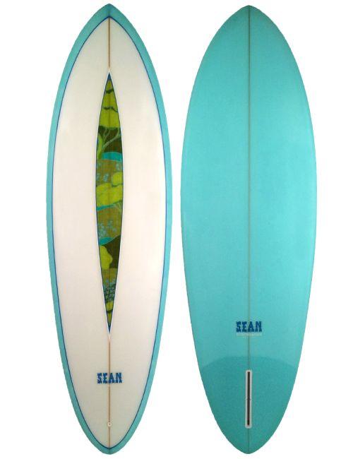 """Sean Surfboards - Single Fin 6'1"""" - Surfboard"""