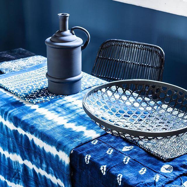 @vtwonen styling @moniekvisserstyling and photography @sjoerd_eickmans #ethnic #blue #styling
