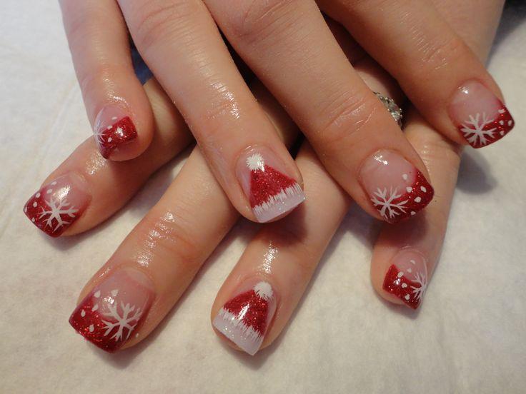 abe24d2ee10005851c202e5691c074a6  ideas for christmas matt nails