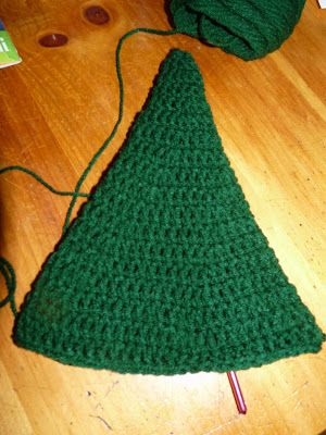 Crochet Christmas Tree Pattern: Cone picture