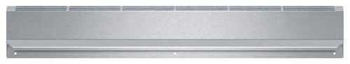 """Bosch - 4"""" Low Back for Bosch HGI8054UC and HDI8054U Slide-In Ranges - Silver"""