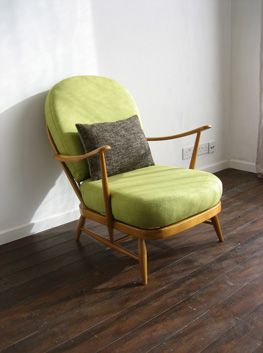 Ercol chair. This is one of the most comfy chairs I have ever sat on with my dodgy back so I would love one for our lounge. They also do armchairs which I would love for a conservatory (not that we have one)!