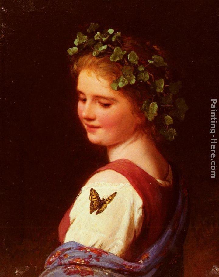 """""""The Butterfly """" by Johann Georg Meyer von Bremen"""