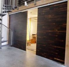 How to Make a Sliding Room Divider.  Need room dividers like this for our loft style house.