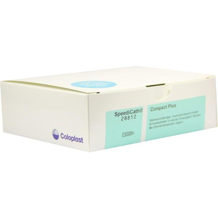 SPEEDICATH Compact Plus Kath.Ch 12:   Packungsinhalt: 30 St Katheter PZN: 05531506 Hersteller: Coloplast GmbH Preis: 96,21 EUR inkl. 19 %…