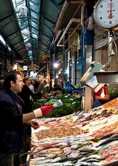 The Modiano Market - Aristotelous and Ermou, Thessaloniki, Greece