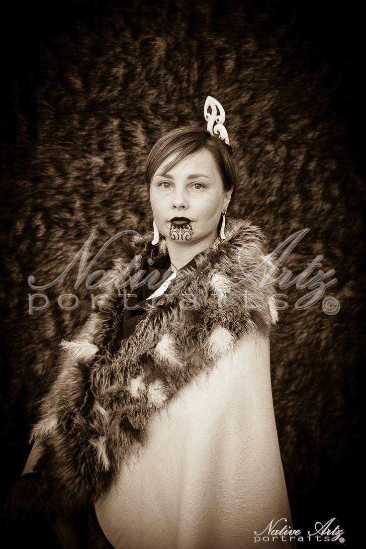 Native Artz Portraits, 2013, ataahua wahine, Maori Portrait, get your own at https://www.facebook.com/NativeArtzPortraits