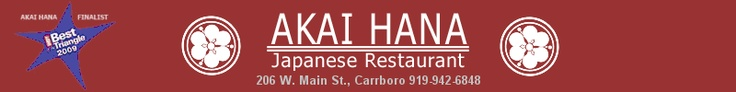 Another great place in Carrboro.  One of the best sushi places around. The caterpillar roll is especially jovial.