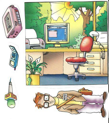 Imagenes de profesiones para imprimir | Imagenes para imprimir.Dibujos para imprimir