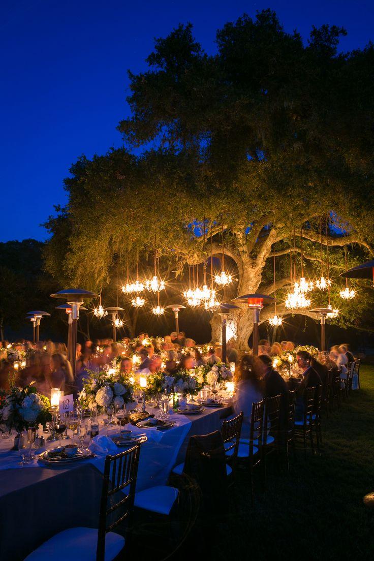 Romantic reception lighting // Ryan Phillips Photography