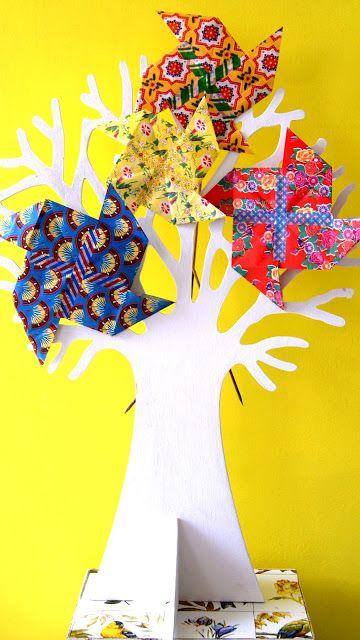 Windmolen origami