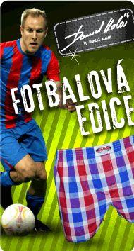 http://www.trenyrkarna.cz/12_addicted  Trenýrky a spodní prádlo- fotbalová edice