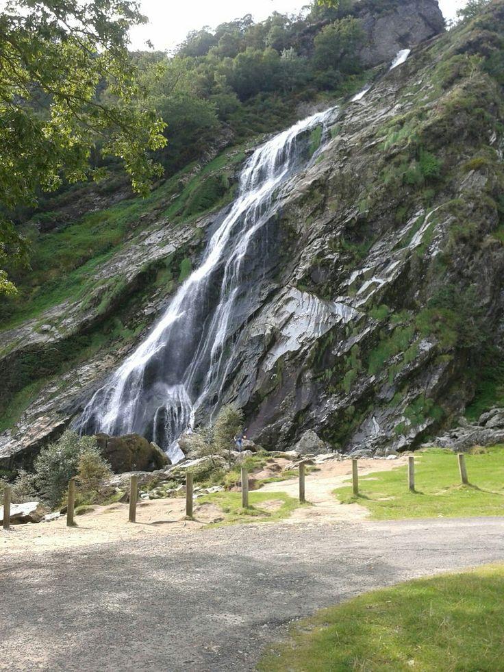 Powerscourt waterfall.